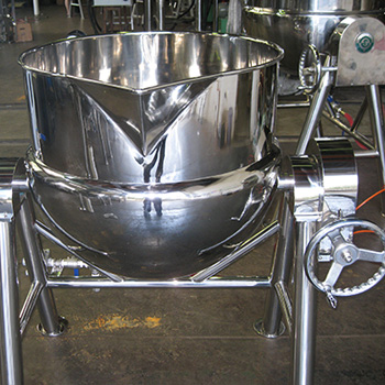 Hydraulic type Stirring & Scraping Pot, Scraping pot